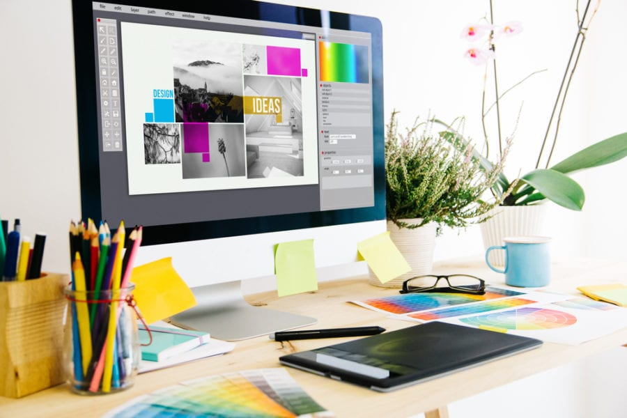 Graphic Design Trends - The Blue Room Marketing Communications Agency