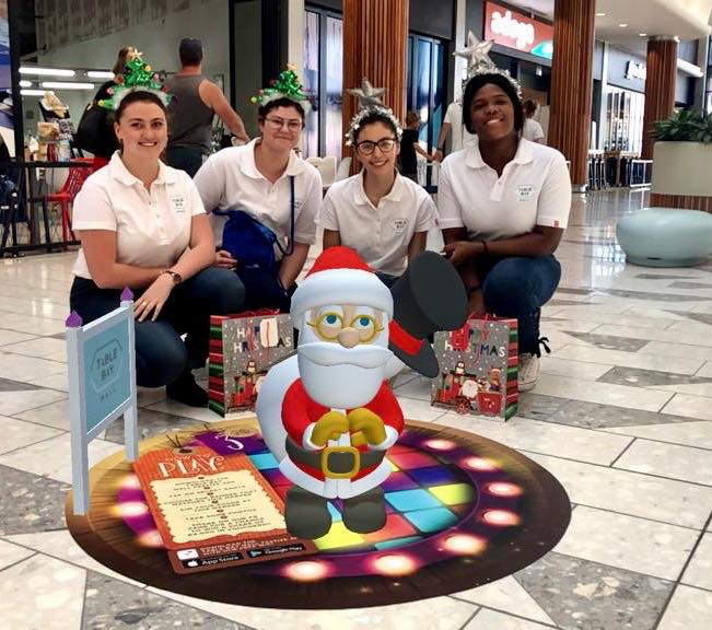 Augmented Reality (AR) Santa - Table Bay Mall - The Blue Room