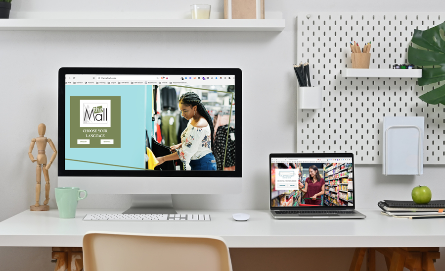South Africa's first-ever bilingual shopping centre websites with chatbots - The Blue Room