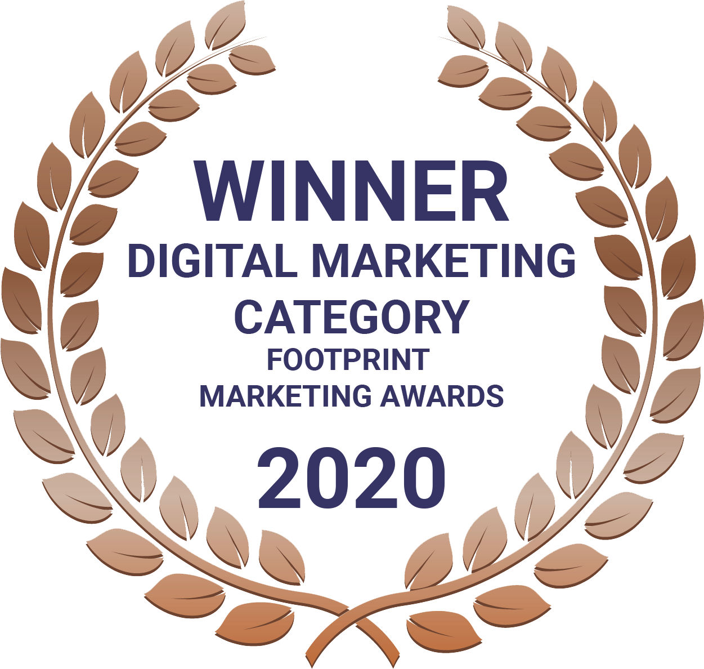 footprint marketing award 2020 the blue room